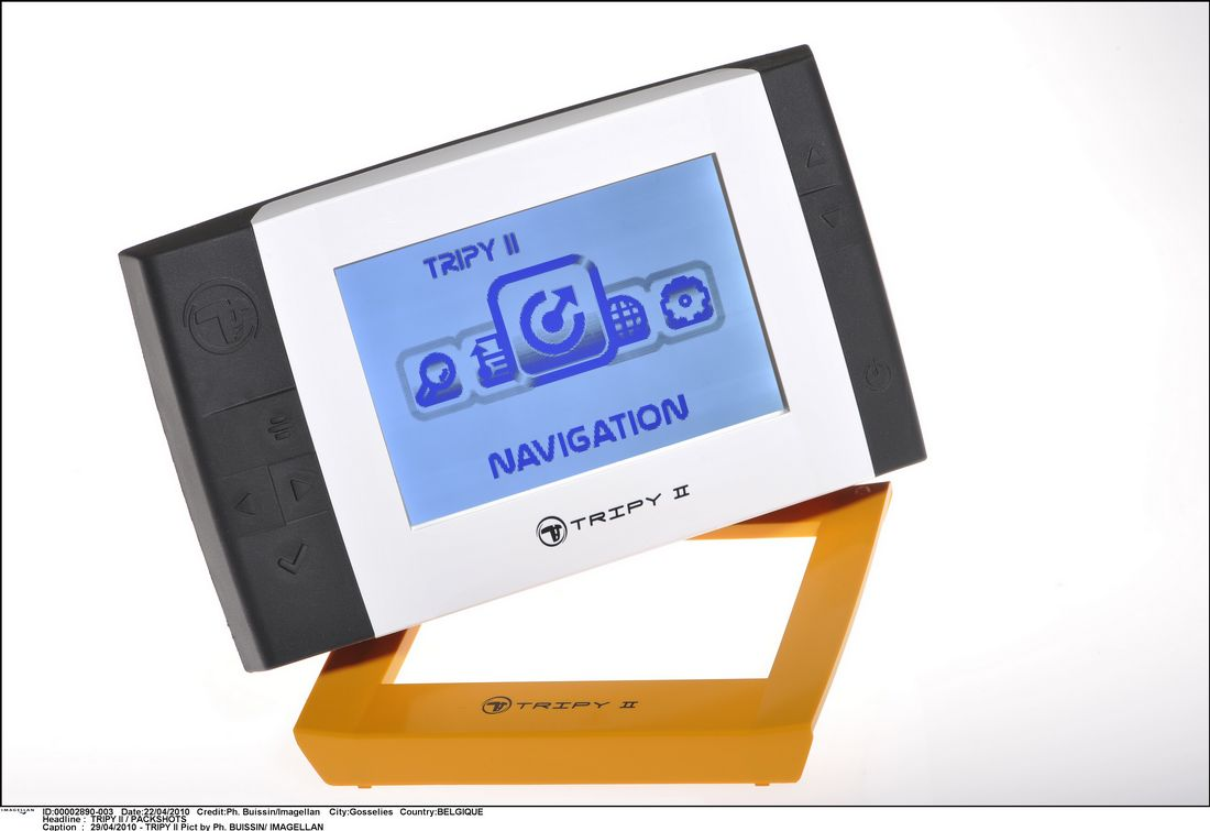 Navigationssystem tripy ii kennenlernen